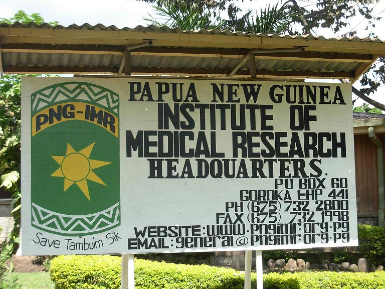 papua new guinea institute of medical research