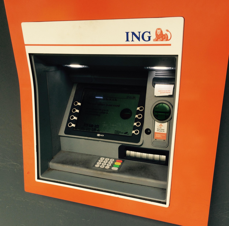 Ingdiba Bankautomat