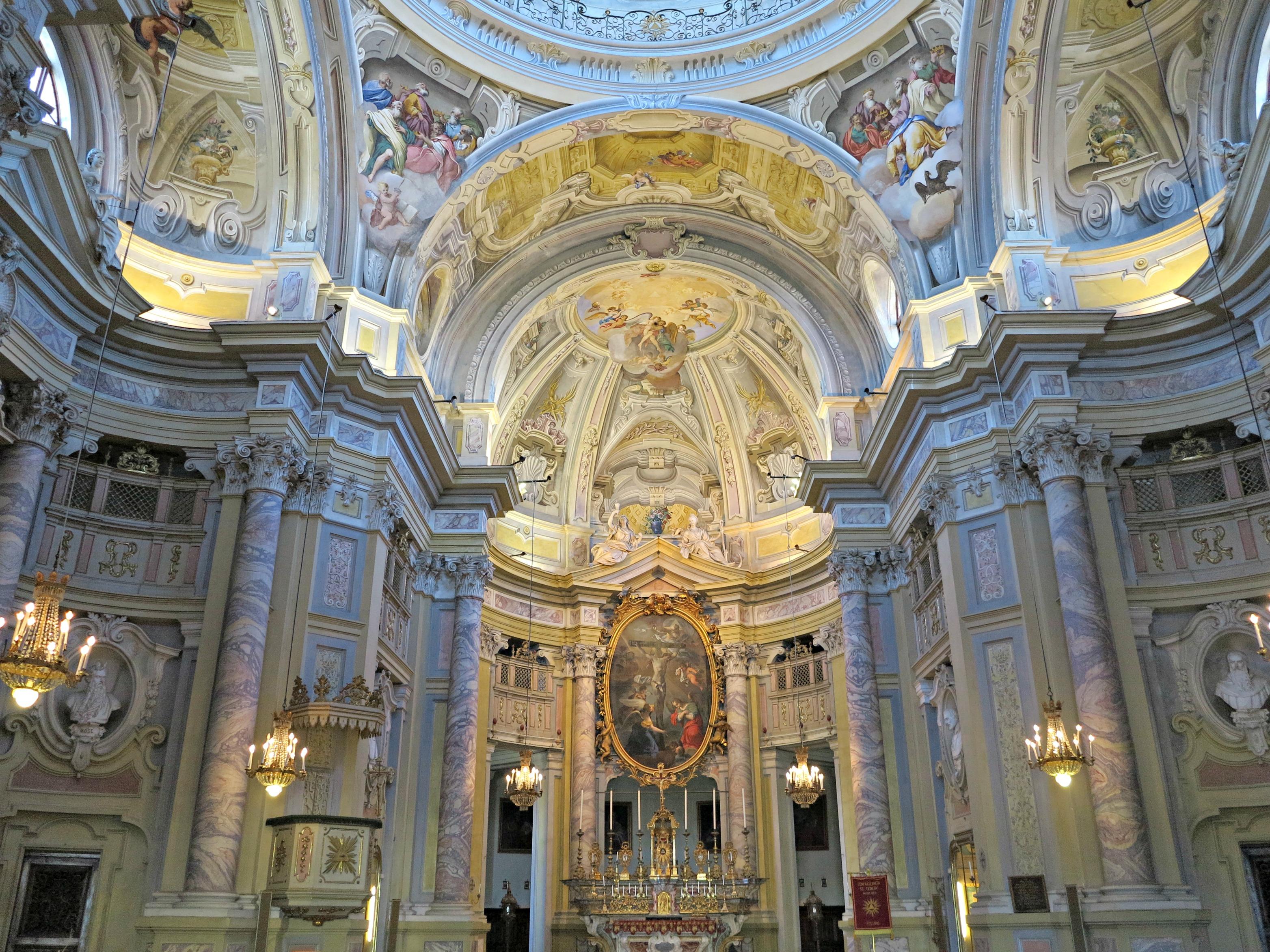 File Interno Della Chiesa Della Santissima Trinit