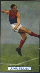 Jack Mueller Australian rules footballer, born 1915