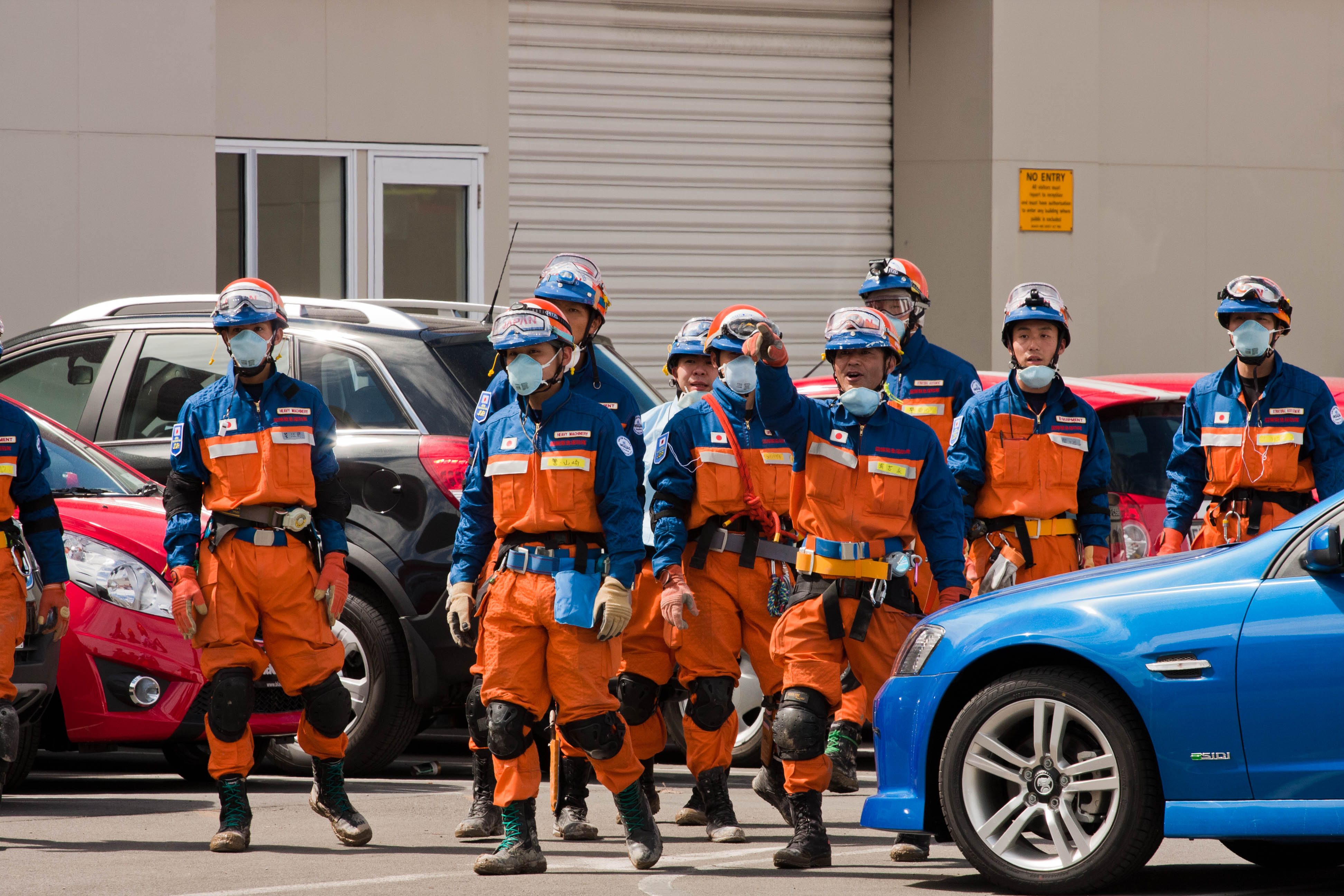 File:Japanese Urban Search And Rescue Team In Christchurch