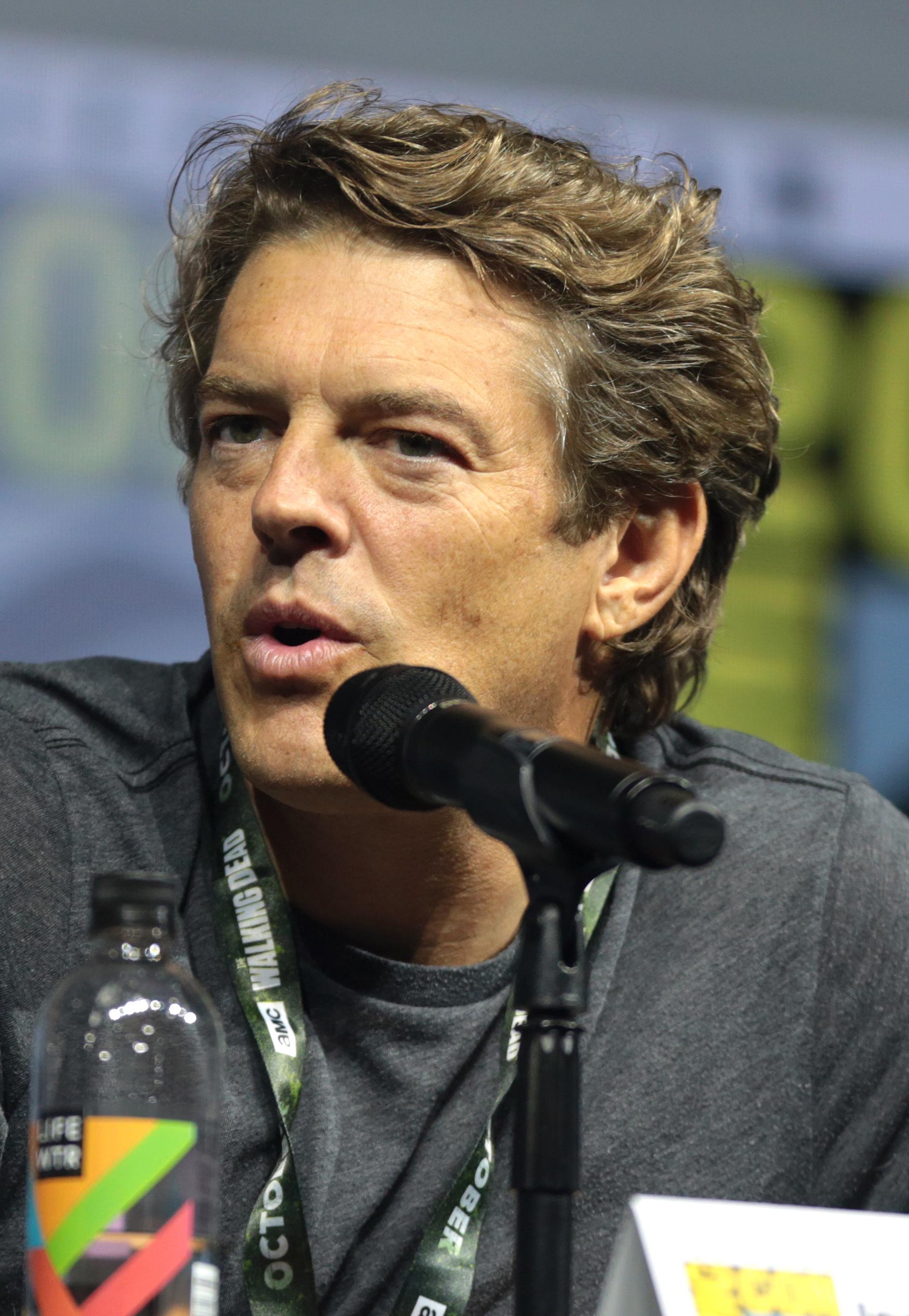 Blum at the 2018 [[San Diego Comic-Con]]