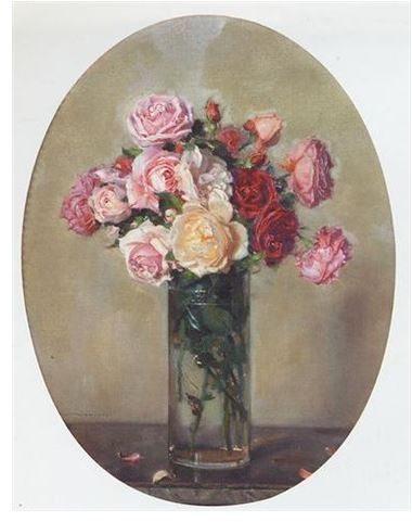 Filejules Alexis Muenier Le Vase De Rosesg Wikimedia Commons