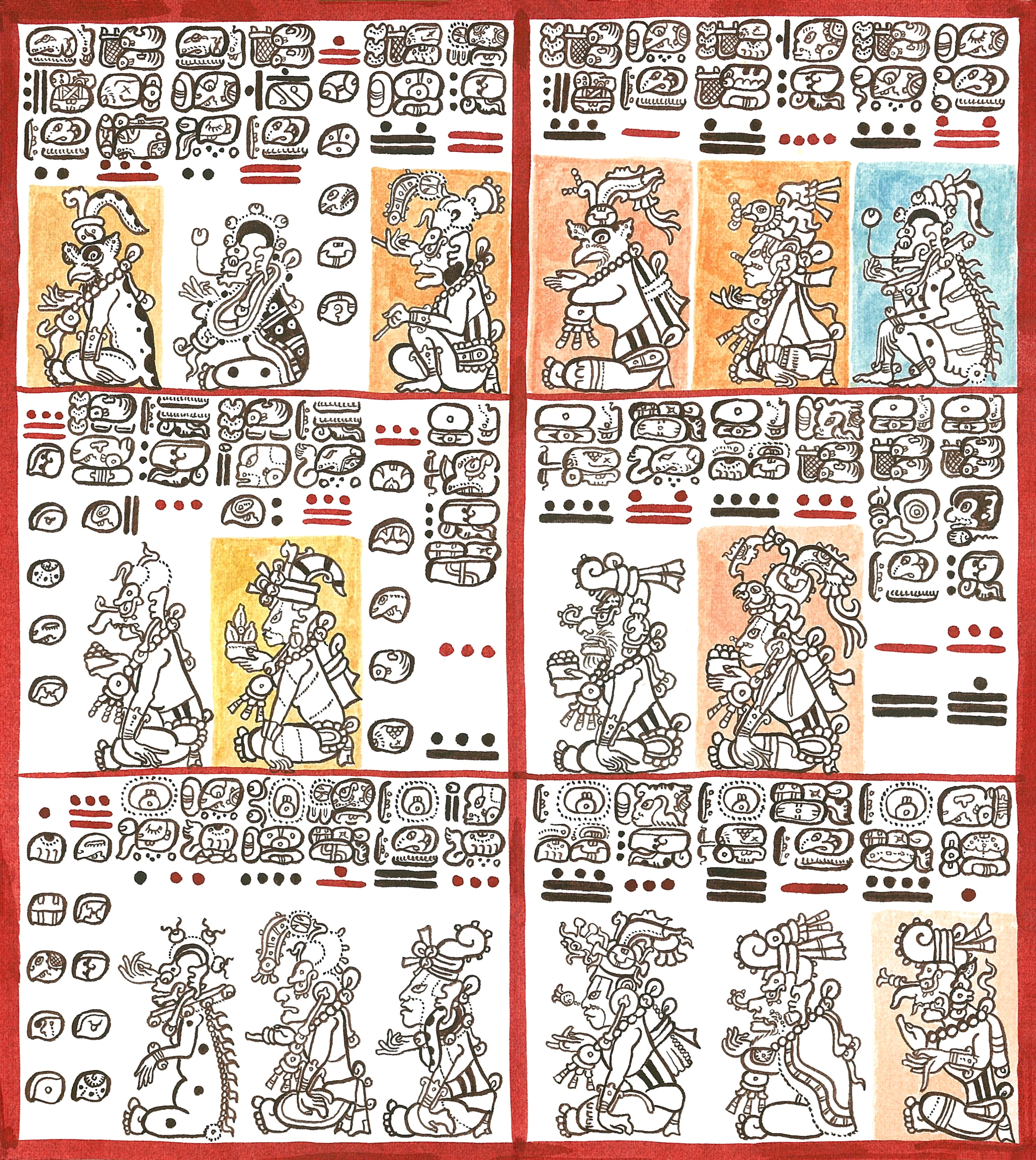 Maya codices - Wikipedia