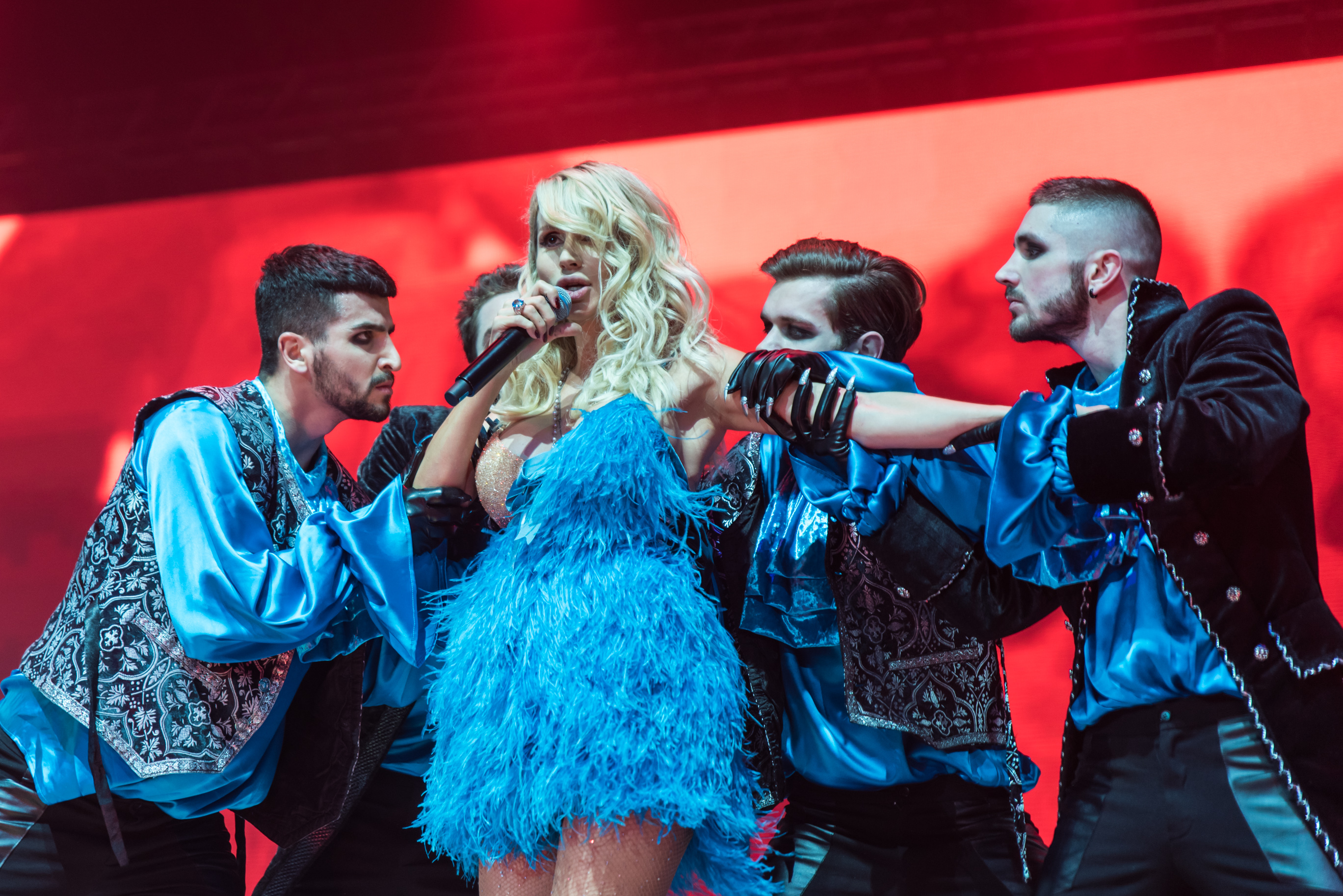 Pugacheva looked at the performance of Loboda in Jurmala 21.08.2018 44