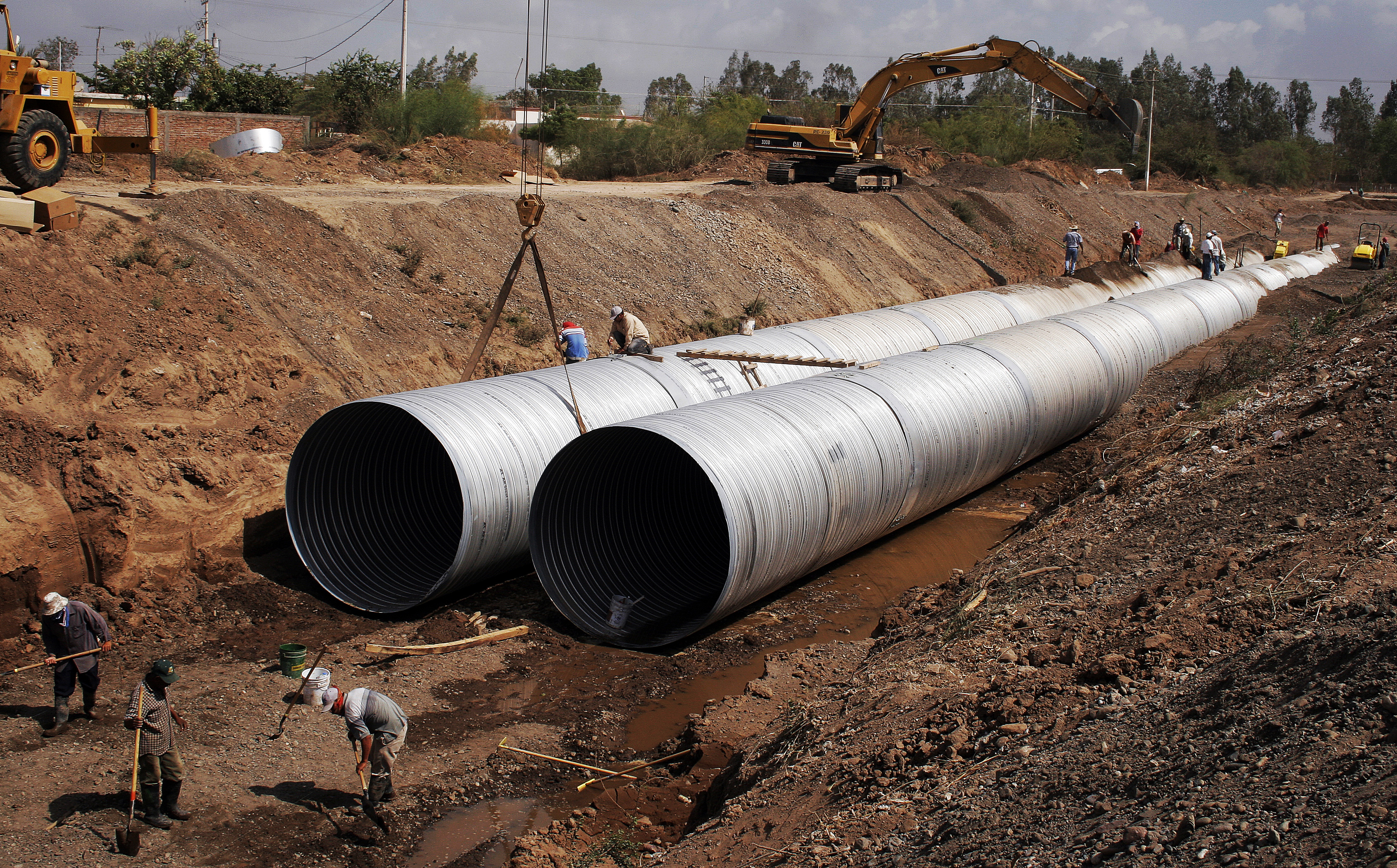 hdpe storm sewer pipe 4 in x 10 ft corex drain pipe perforated
