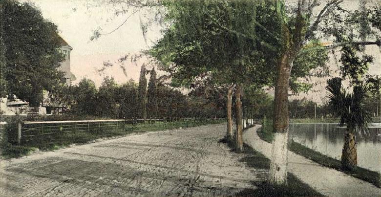 lucerne circle postcard image