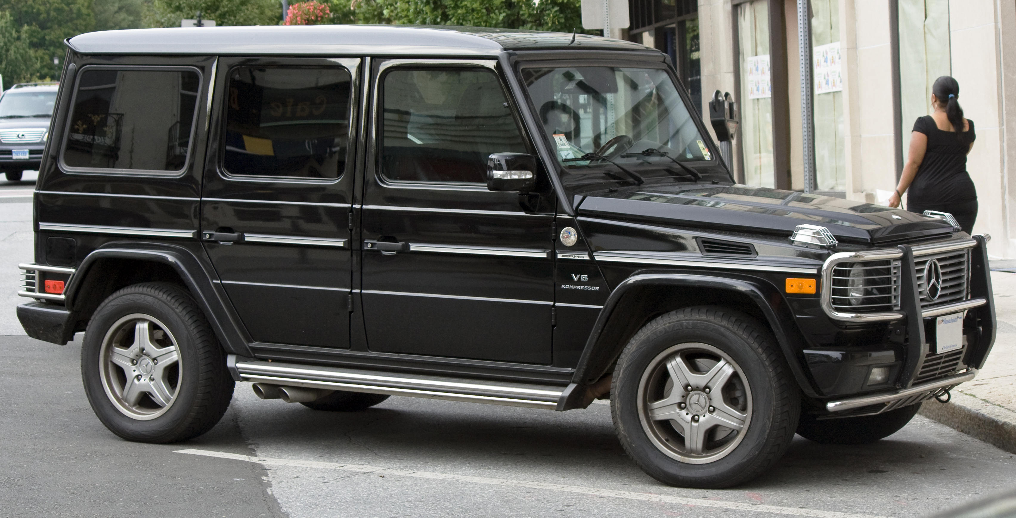 Mercedes G Wagon >> File:MB G55 AMG.jpg - Wikimedia Commons