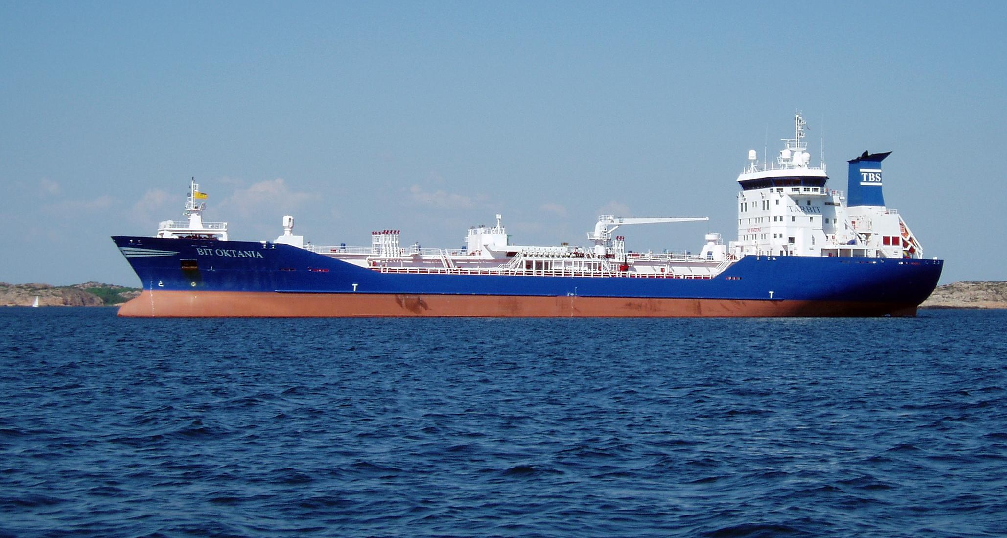 Svenskt fartyg slappte ut olja
