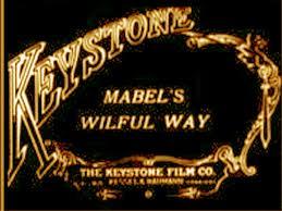 <i>Mabels Wilful Way</i> 1915 silent short film