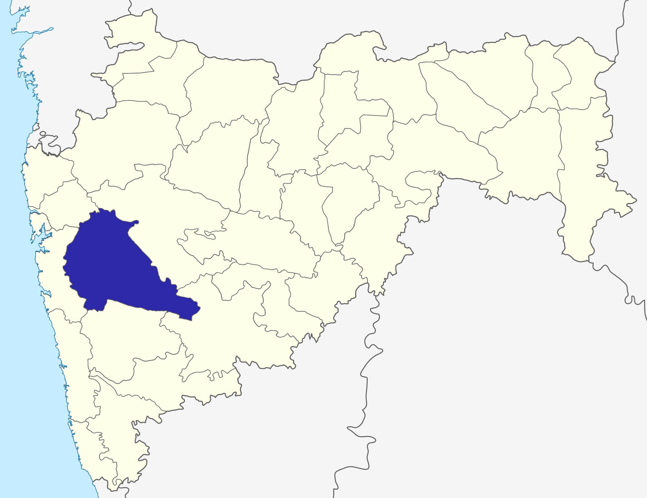 Pune district wikipedia location of pune district in maharashtra gumiabroncs Images