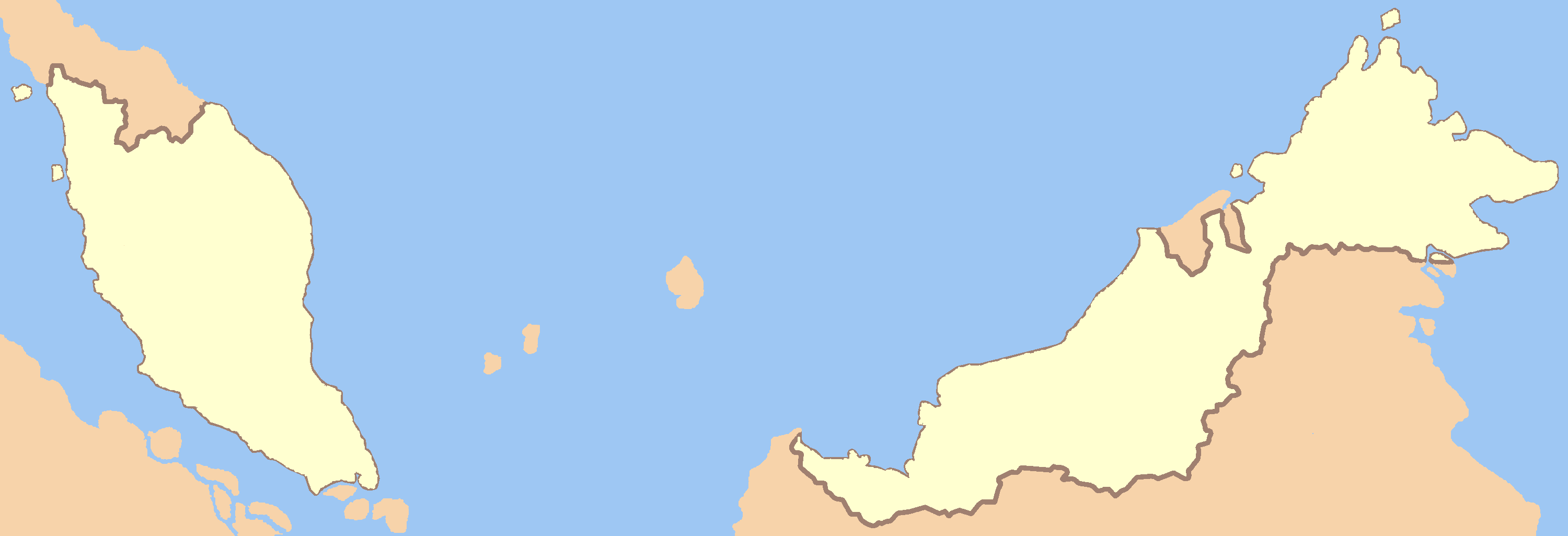Picture of: File Malaysia States Blank No Borders Png Wikimedia Commons