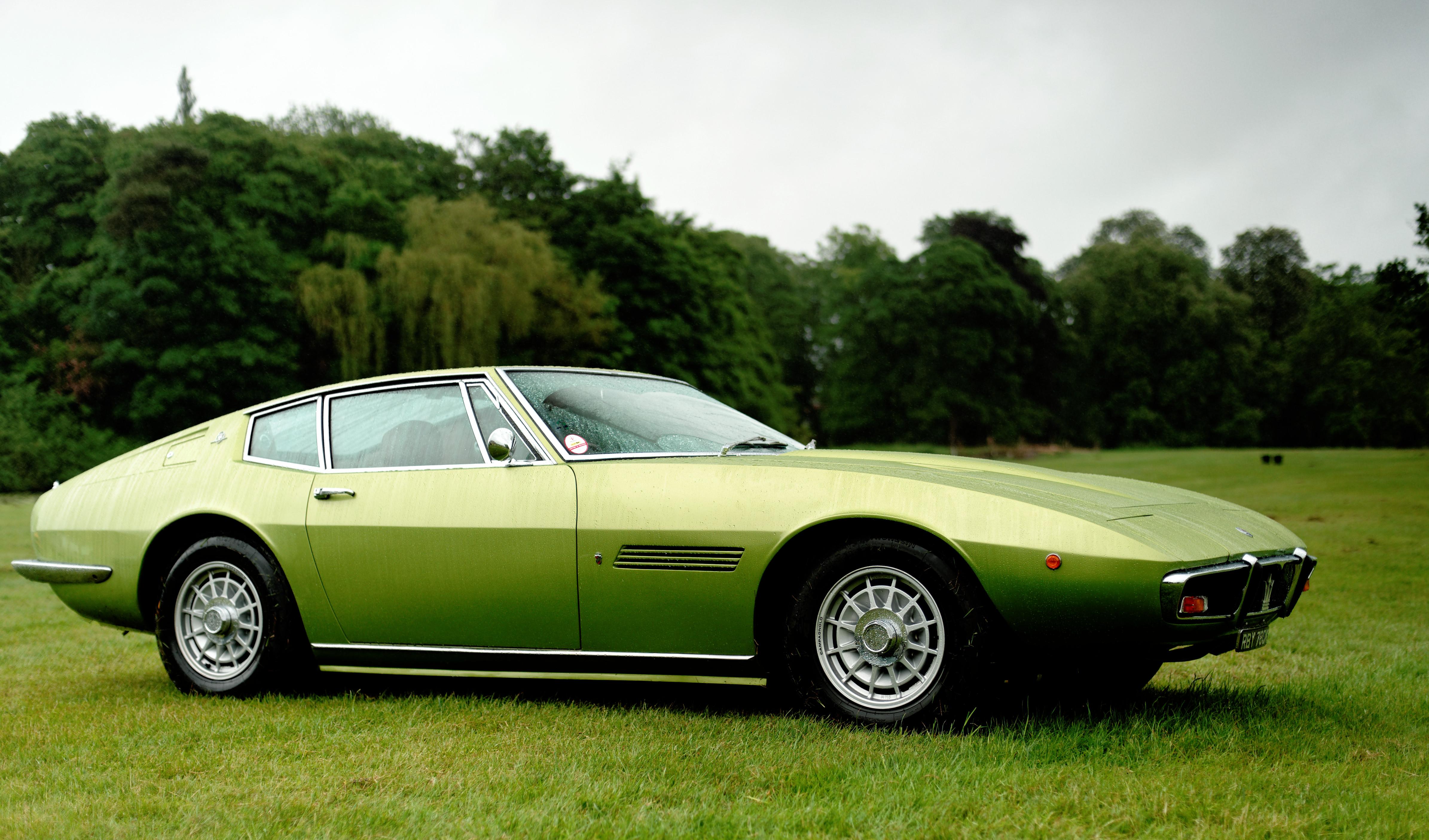 File Maserati Ghibli Green Jpg Wikimedia Commons