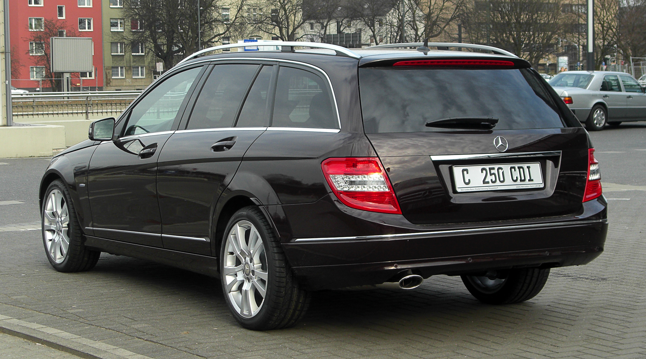 File Mercedes Benz C 250 Cdi Blueefficiency T Modell Avantgarde S 204 Heckansicht 12 M 228 Rz