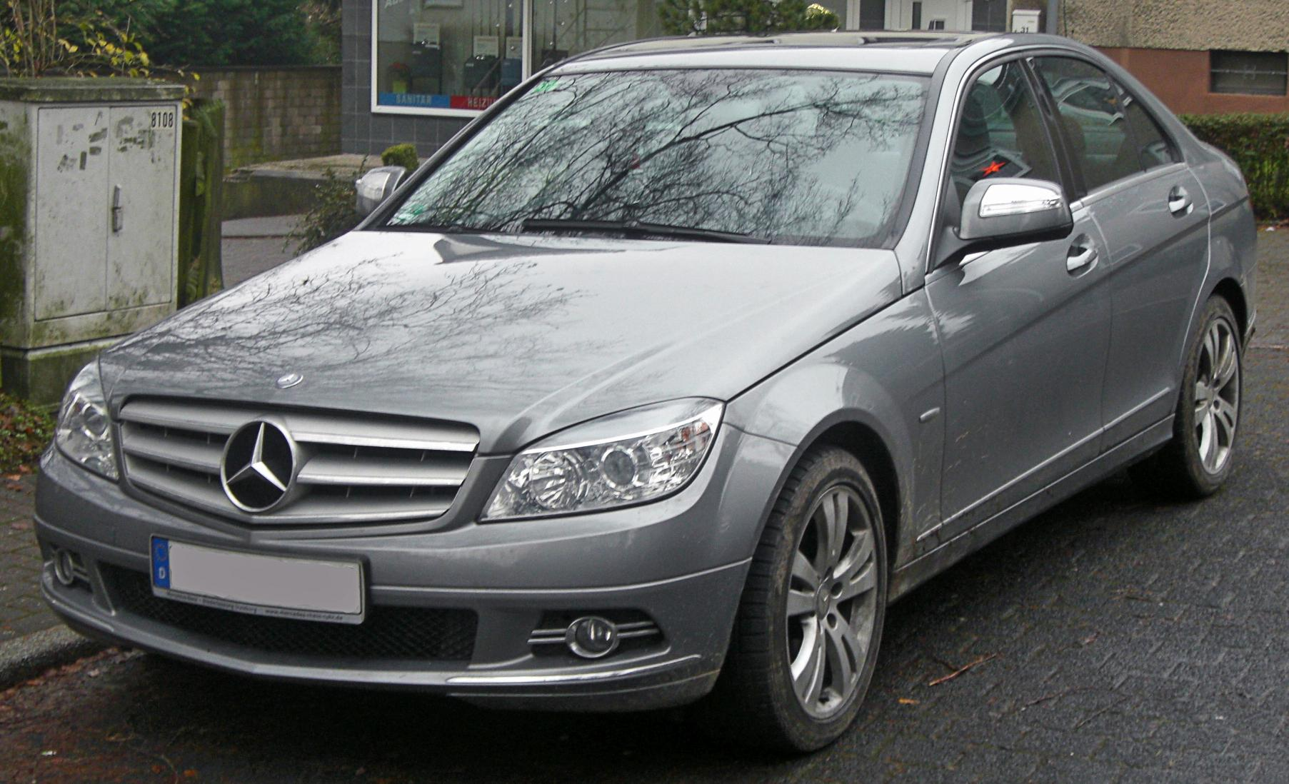 mercedes c 220 cdi avantgarde w204 seit 2007 front. Black Bedroom Furniture Sets. Home Design Ideas