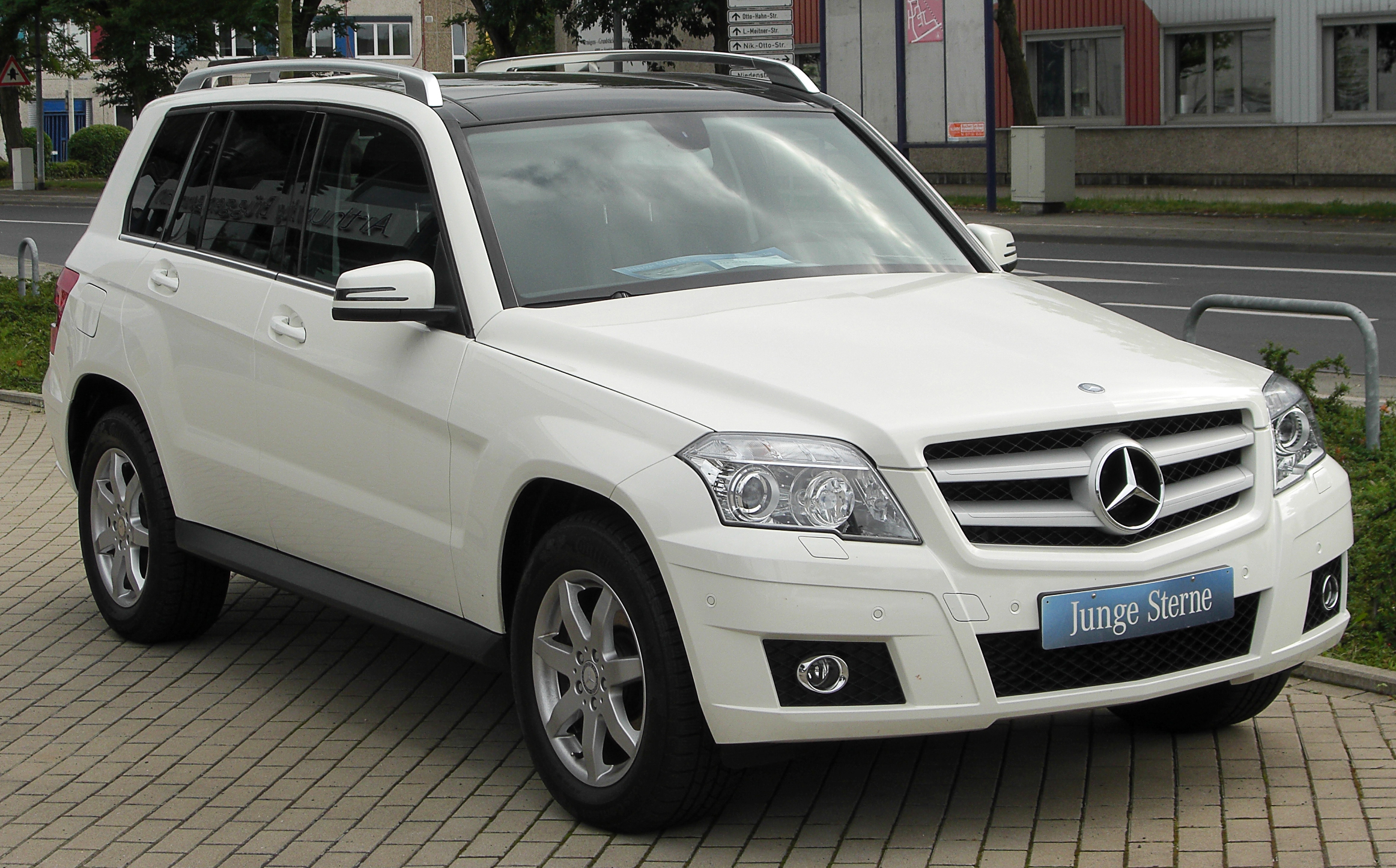 file mercedes glk 350 cdi 4matic x204 front