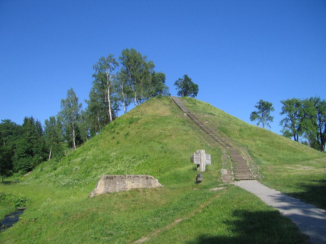 Merkines piliakalnis legenda