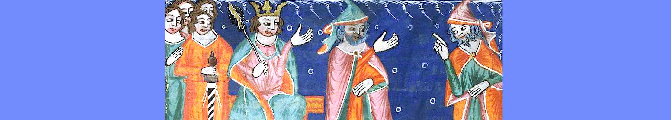 Ахав и пророк Михей.