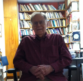 Morton Deutsch in his Office, 2012