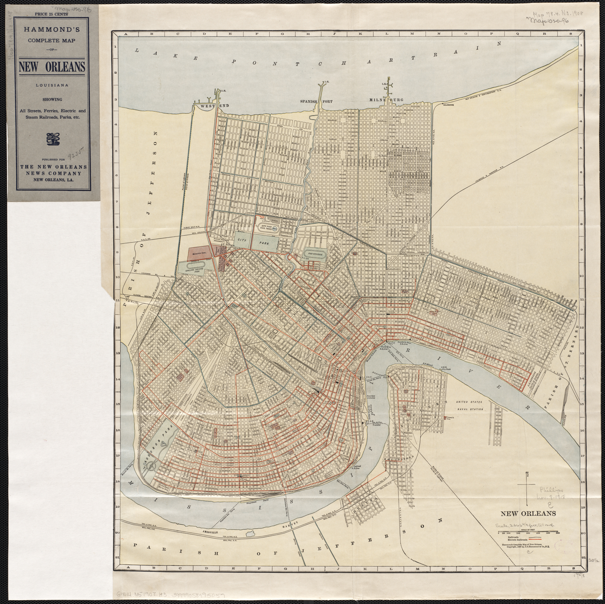 File New Orleans Hammond Map 1908 Jpg Wikimedia Commons