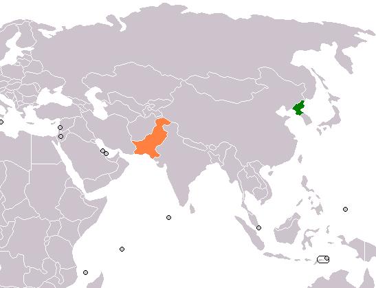 North Korea In The World Map.North Korea Pakistan Relations Wikipedia