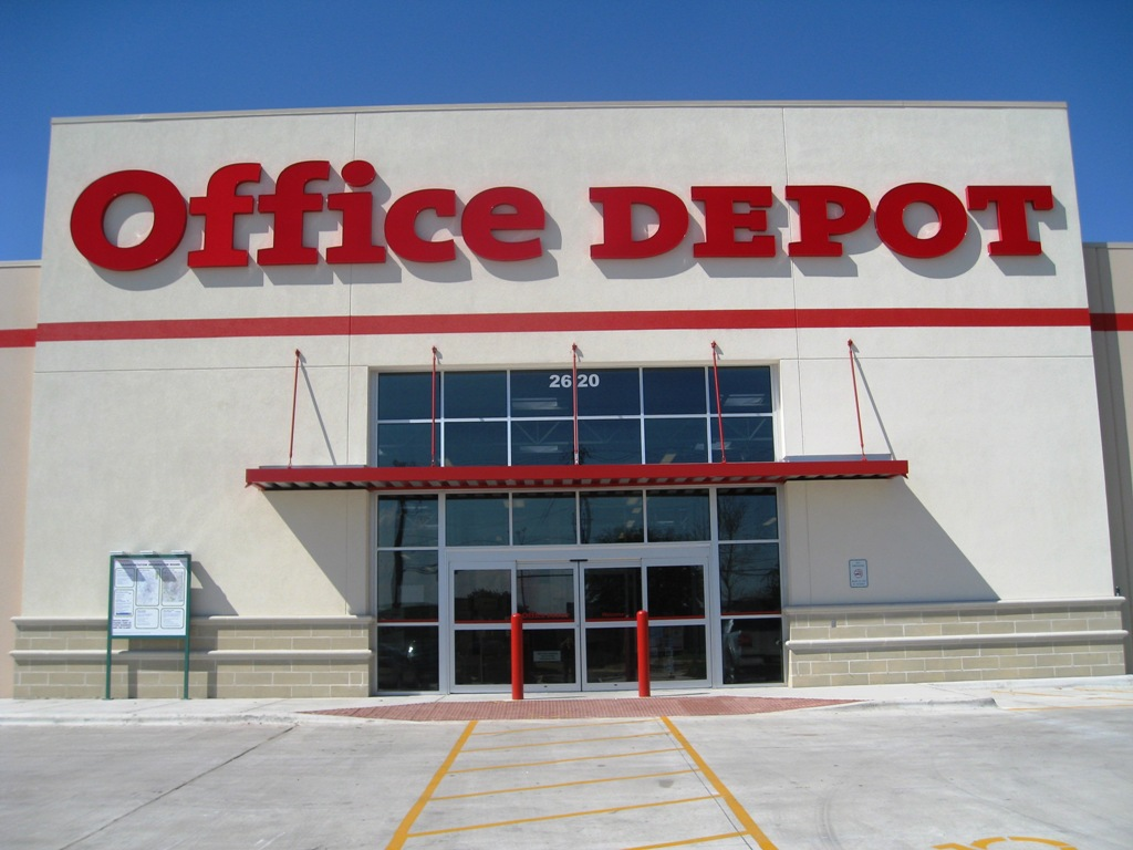 file office depot leed certified store austin. Black Bedroom Furniture Sets. Home Design Ideas
