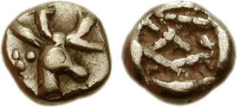 Αρχείο:One 48th of stater, Phanes, Ionia - 140058.jpg