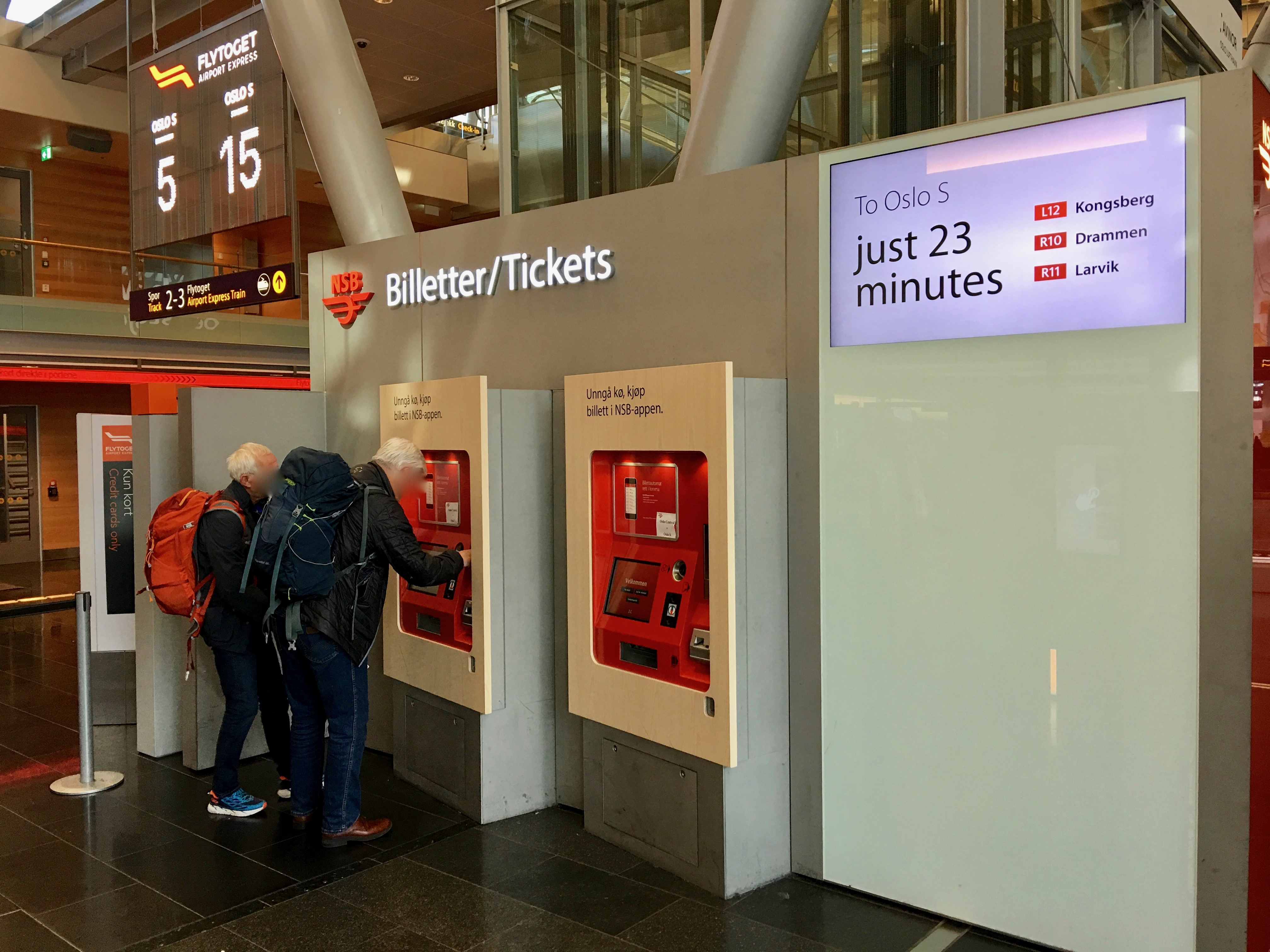 File Oslo Lufthavn Gardermoen Nsb Billettautomat Oslo Airport
