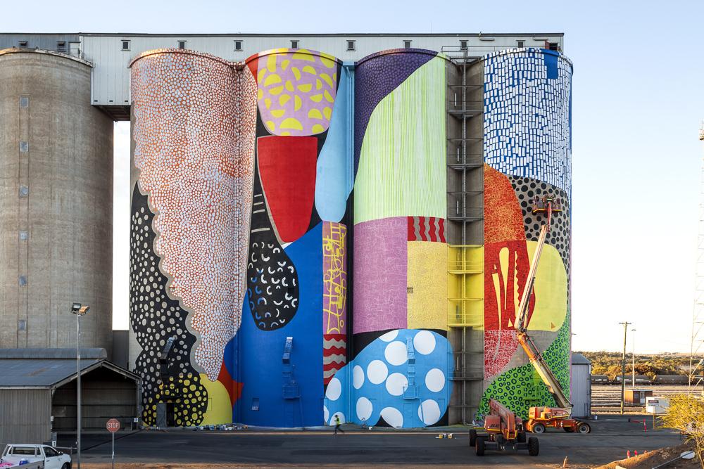 Painted Silos Australia