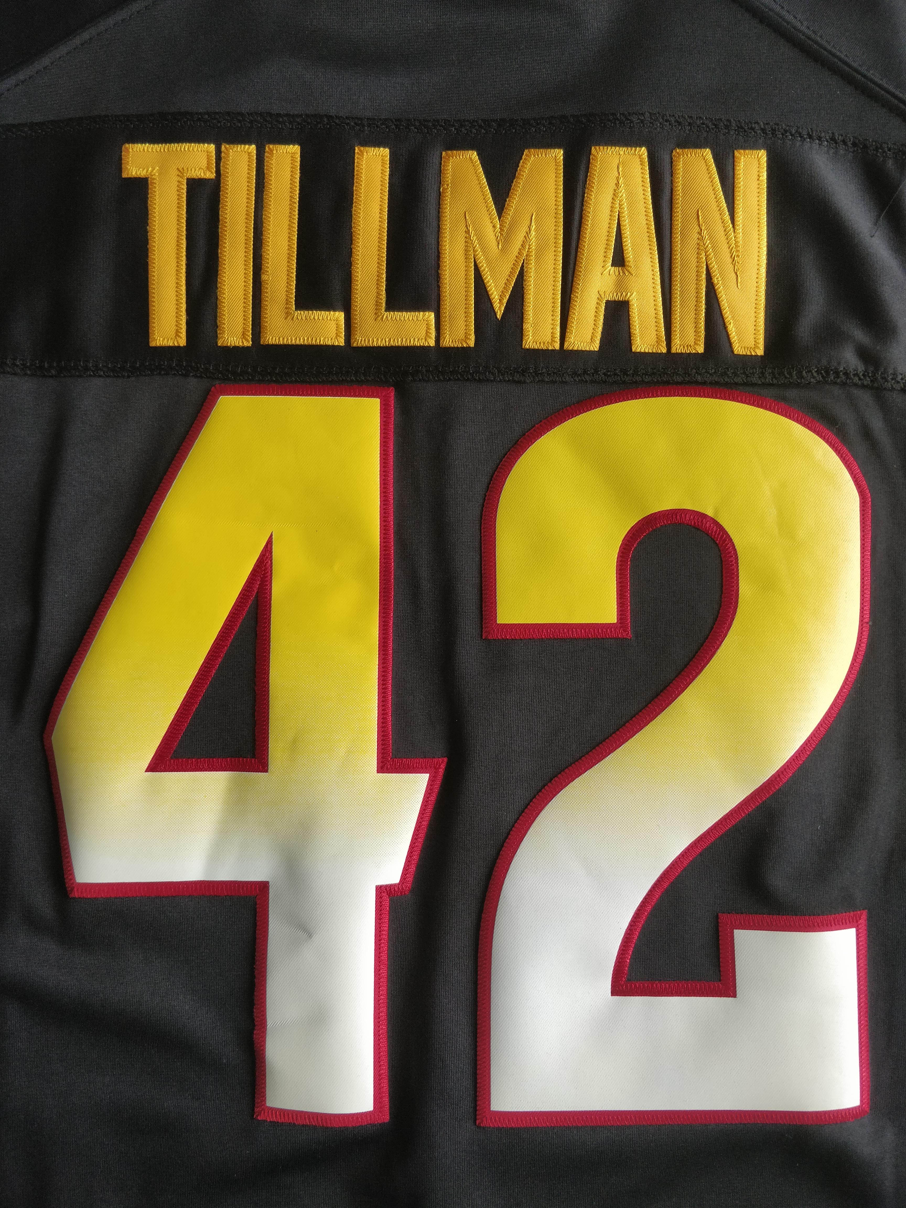 brand new 046e2 c4633 File:Pat Tillman's Sun Devils jersey (2).jpg - Wikimedia Commons