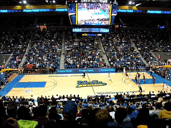 Pauley Pavilion - Wikipedia on mccarthy athletic center map, galen center los angeles, galen center parking map, galen center seating chart basketball, galen center directions,