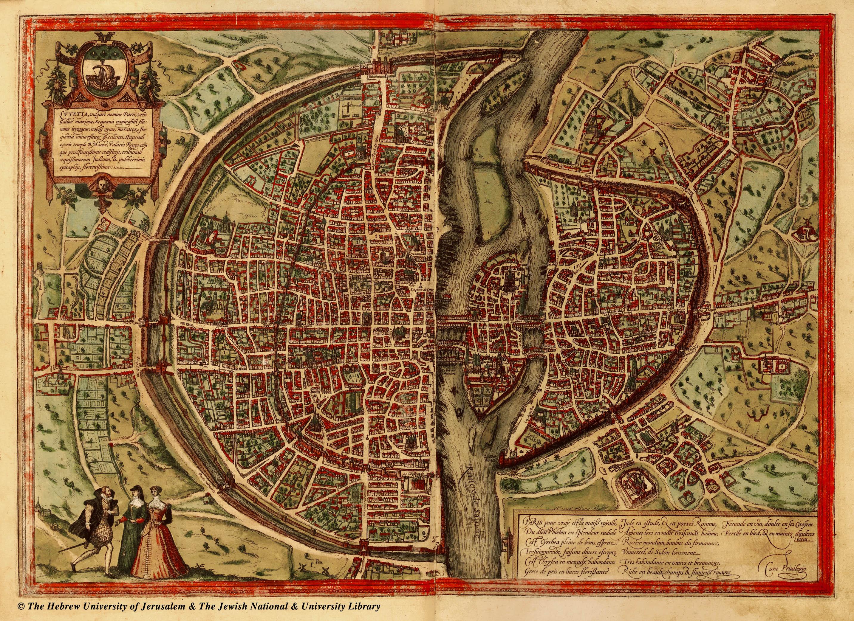 FilePlan de Paris en 1572jpg Wikimedia Commons – Plan De Paris Map