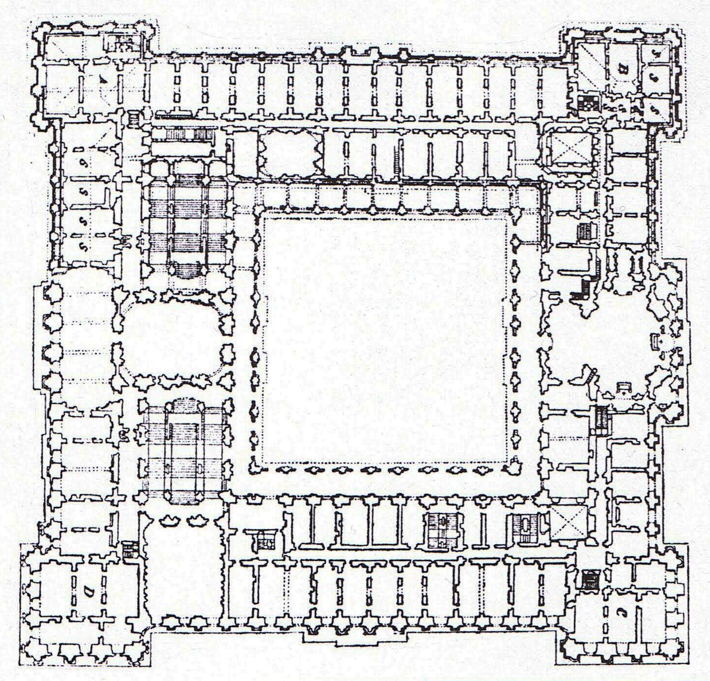File Planta Del Palacio Real Proyecto De Sachetti Jpg Wikimedia Commons