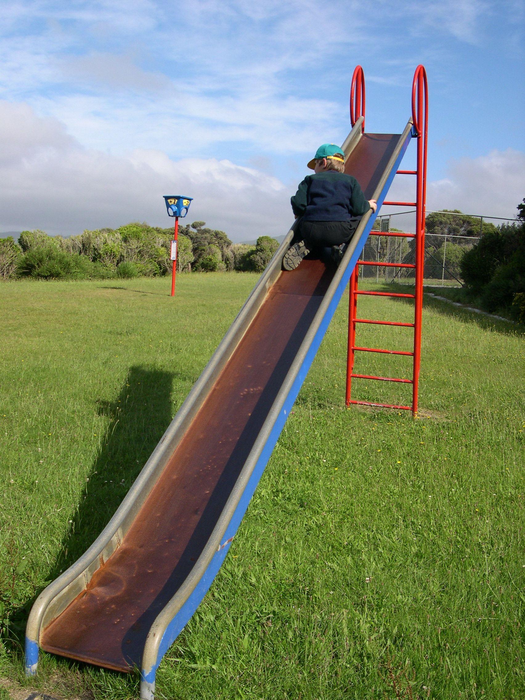 how to make a kids slide