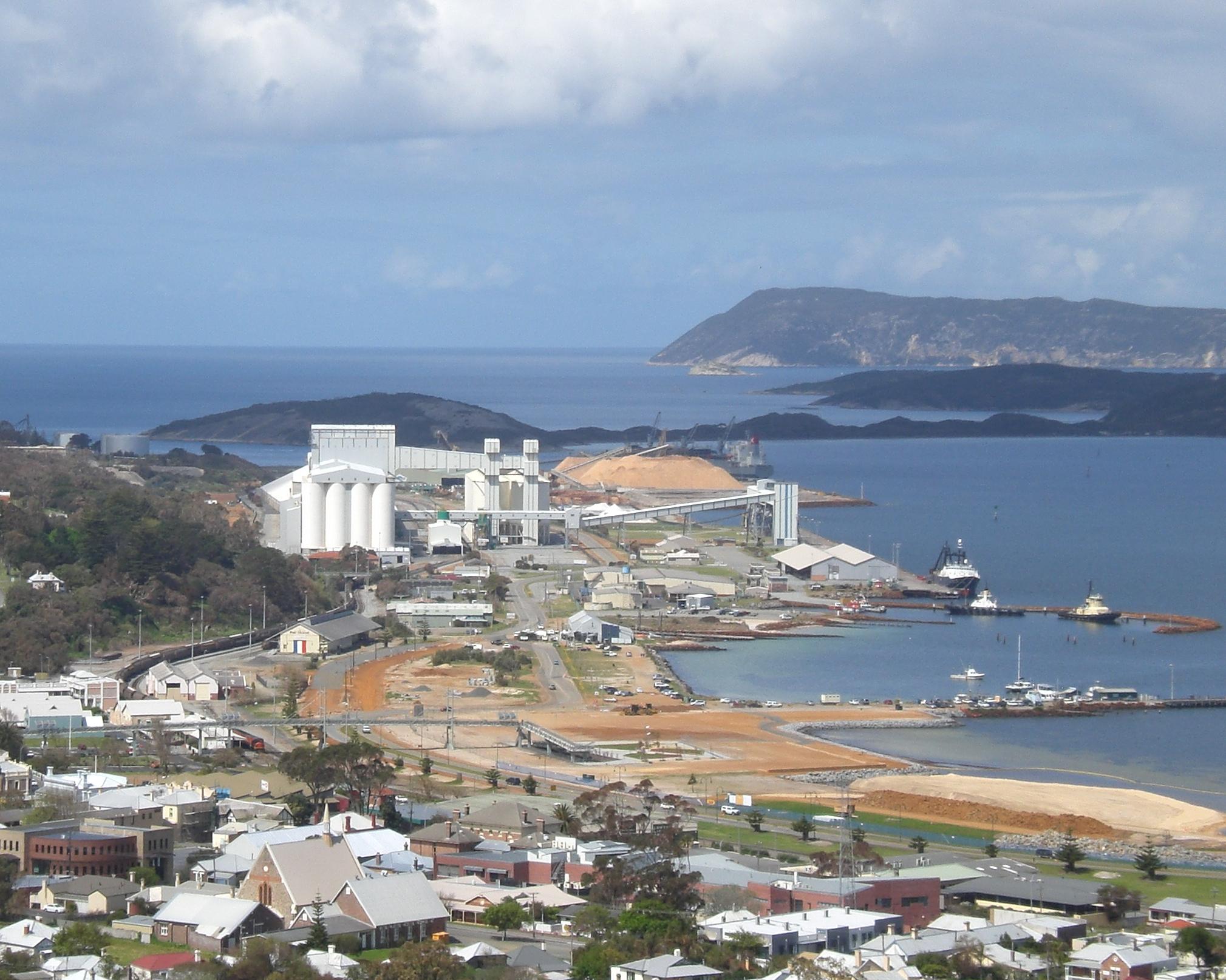Albany Australia  city photos : Port of Albany Wikipedia, the free encyclopedia