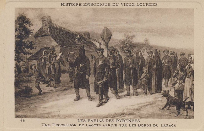 French Cagots in procession
