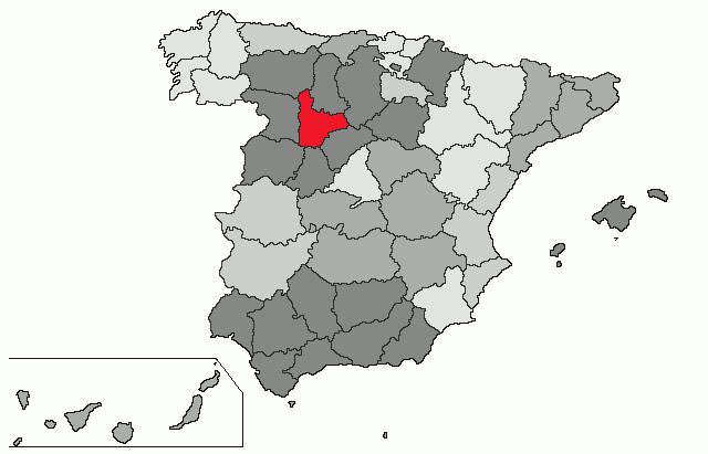 mapa espanha valladolid Espanha | Mapa: Valladolid mapa espanha valladolid