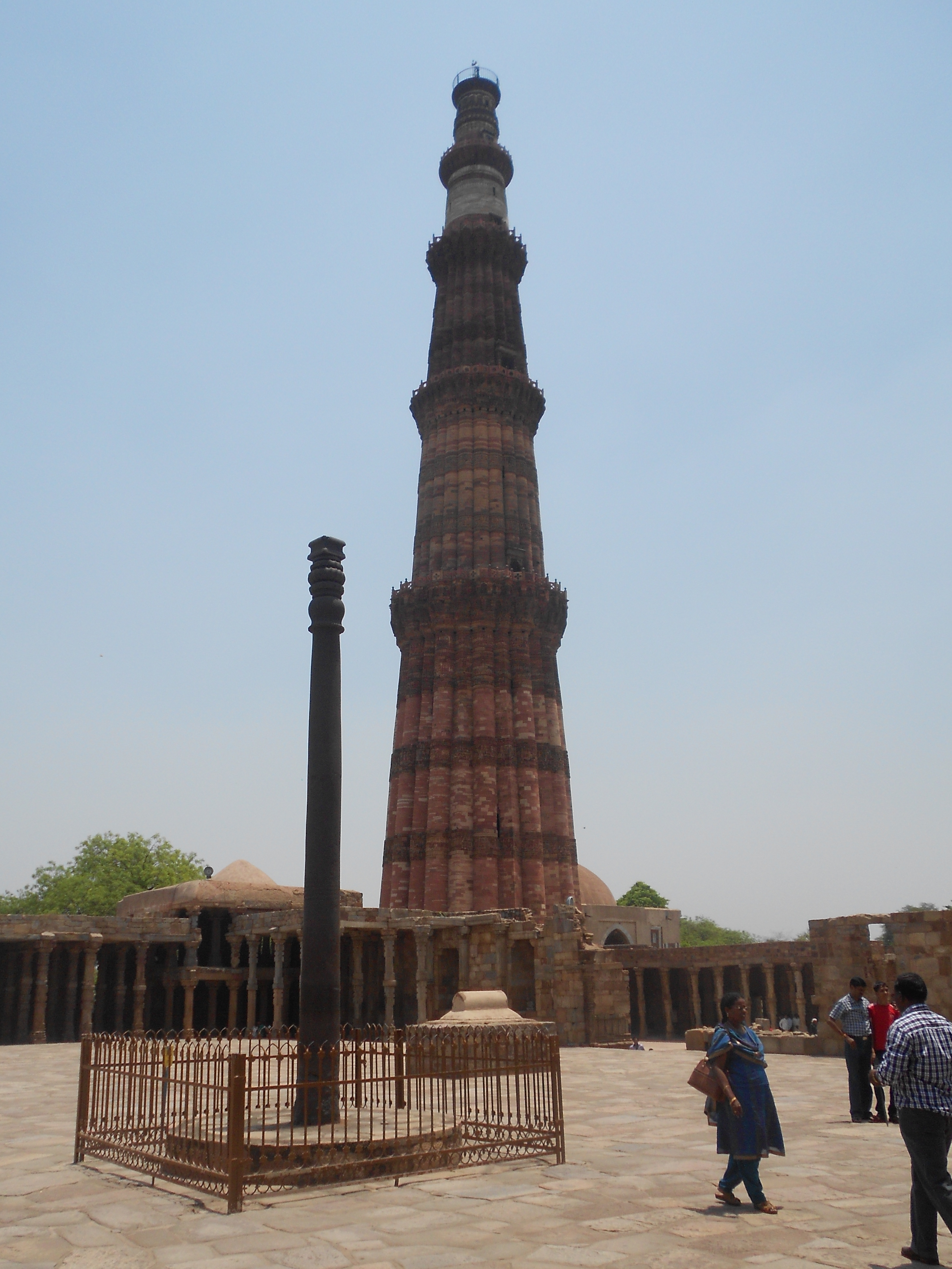 Iron Pillar Qutub Minar : Images about oracle ancient towers other pointy