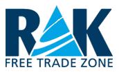 English: RAK FTZ Logo