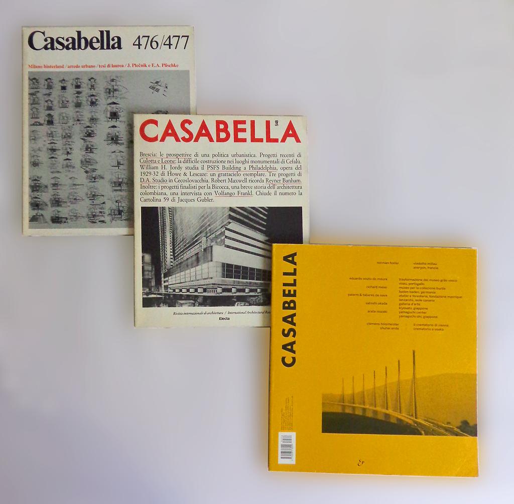 Casabella wikipedia for Riviste di design