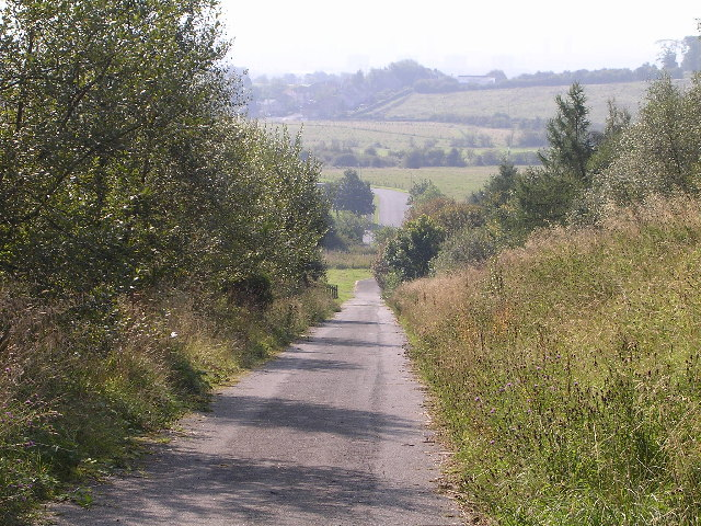 File:Road to Baljaffray Reservoir - geograph.org.uk - 49104.jpg