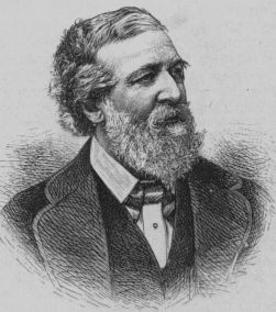 Depiction of Robert Browning