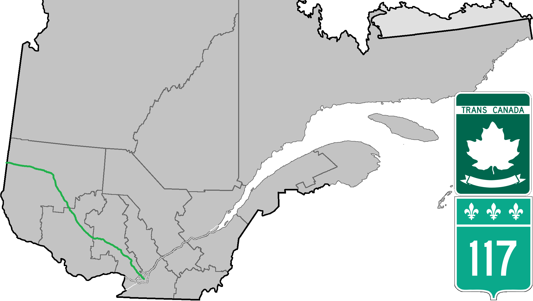 Quebec Route 117 - Wikipedia on