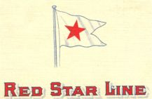 pavillon de la Red Star, blanc à étoile rouge