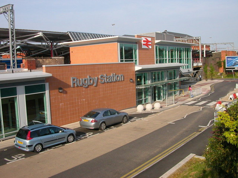 Rugby Railway Station Wikipedia