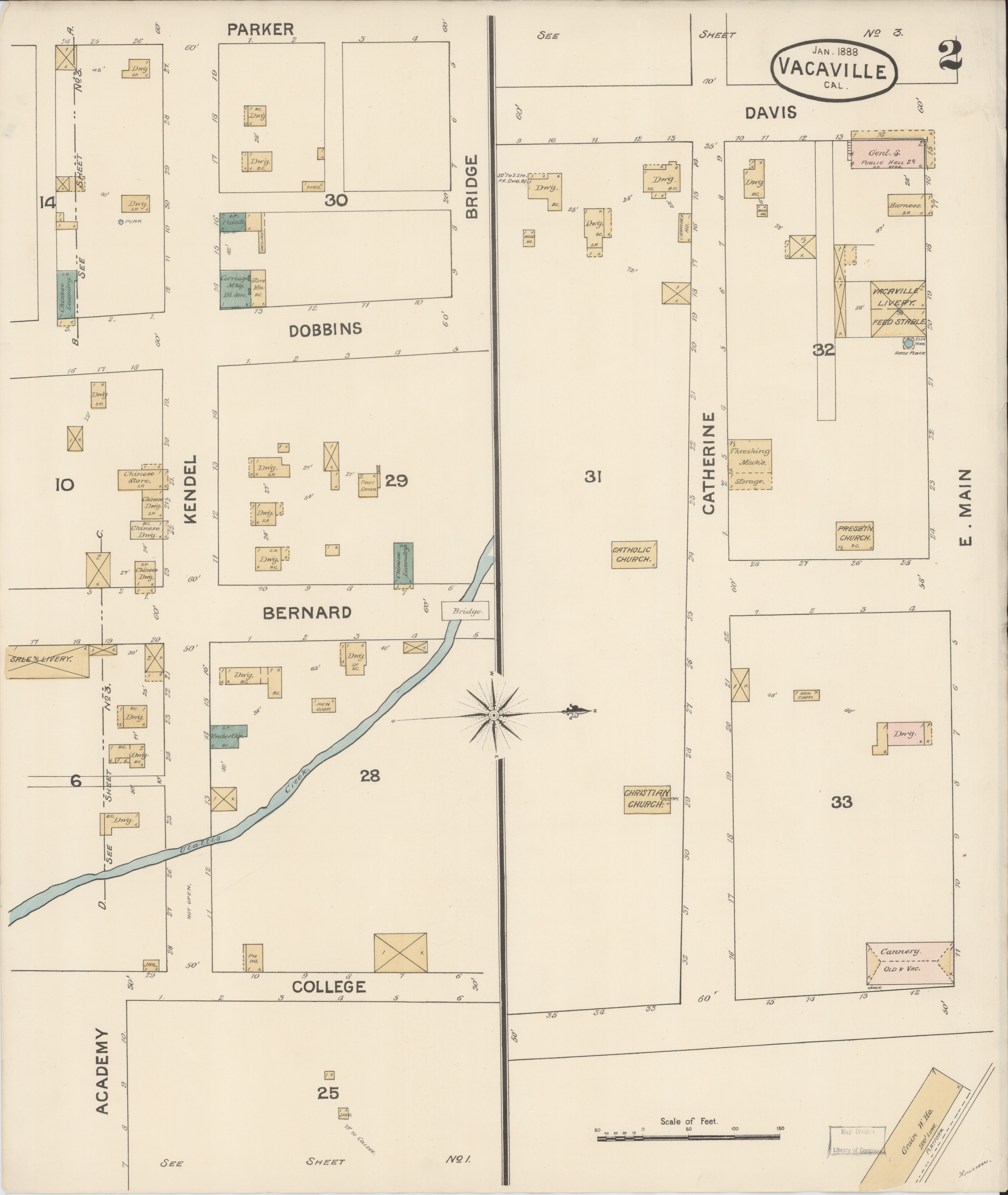 Map Of California Vacaville.File Sanborn Fire Insurance Map From Vacaville Solano County