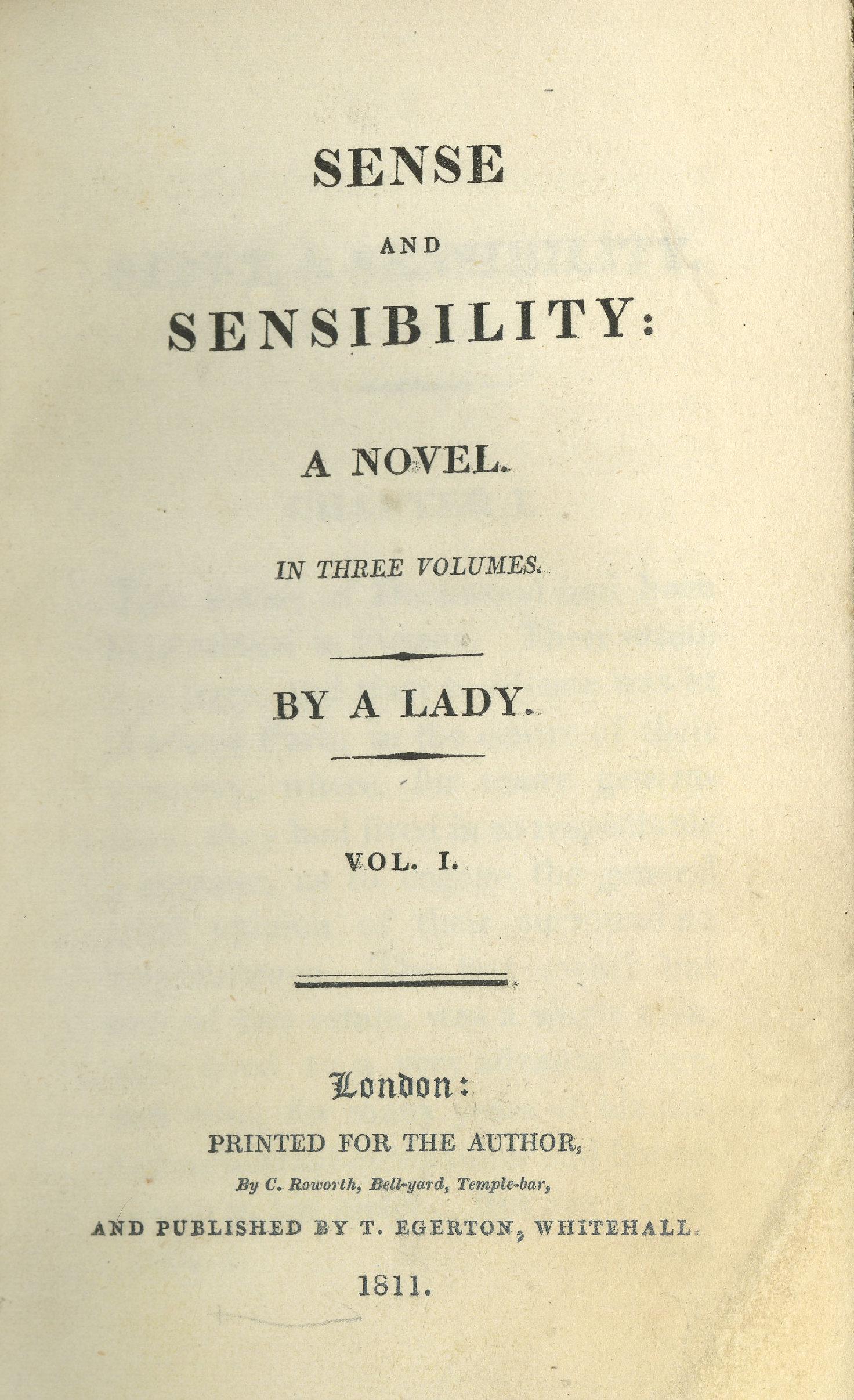 Sense and Sensibility cover