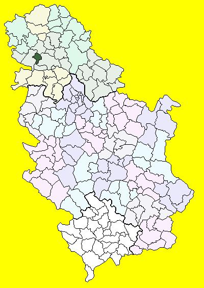backi petrovac mapa srbije Bački Petrovac (općina) – Wikipedija backi petrovac mapa srbije