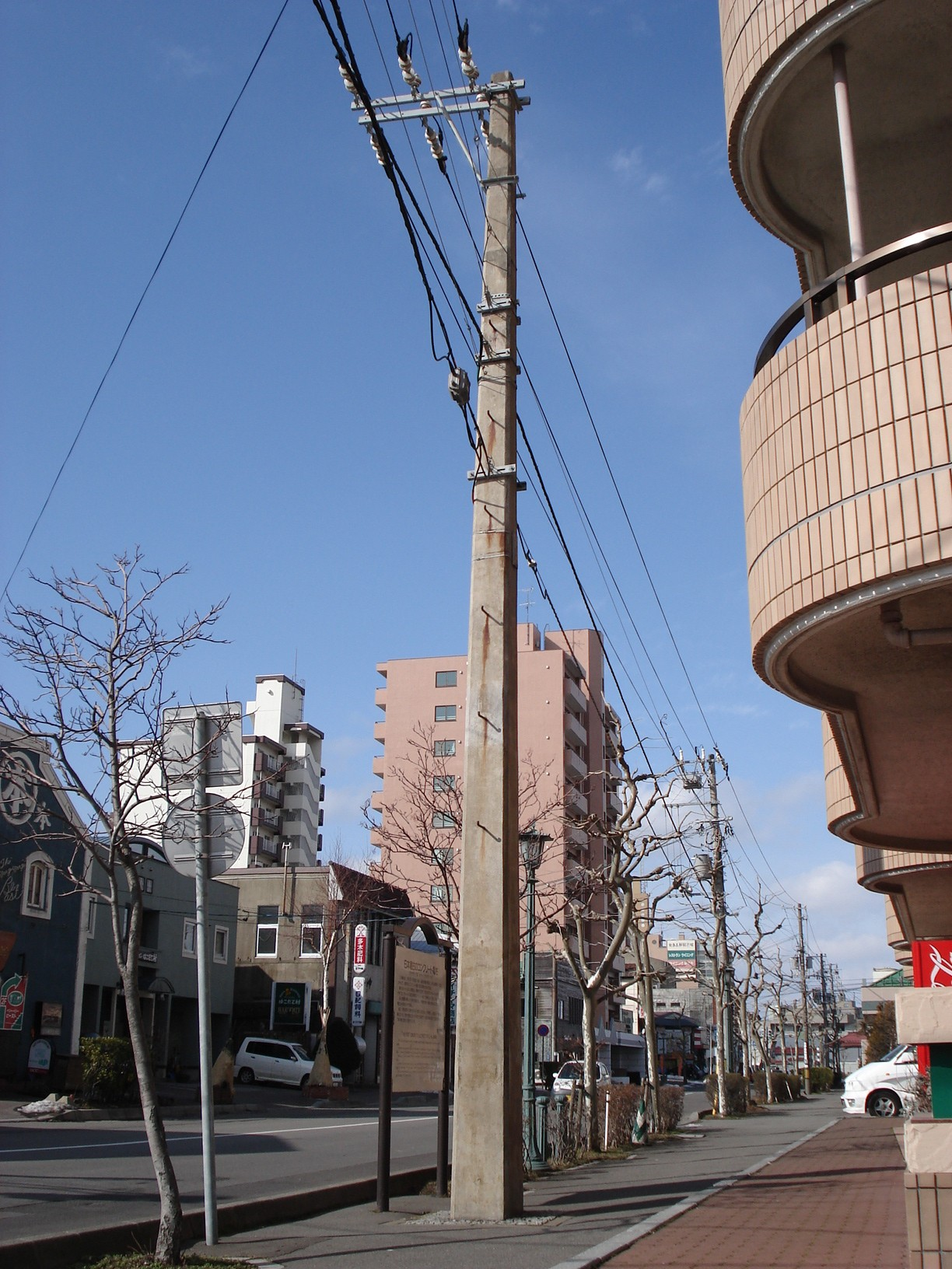 File:Square utility pole 090207.jpg - Wikimedia Commons