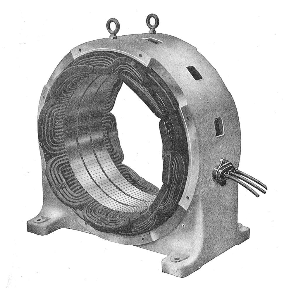 File Stator Of Induction Motor  Rankin Kennedy  Electrical Installations  Vol Ii  1909  Jpg